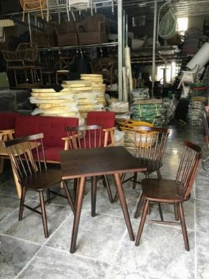 Bàn ghế gỗ bán giá sỉ