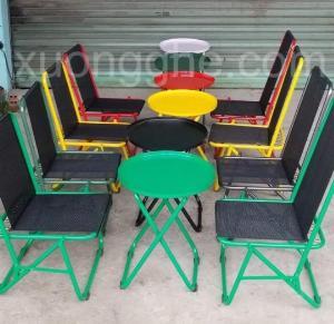 Ghế xếp nhiều màu giá hạt giẻ