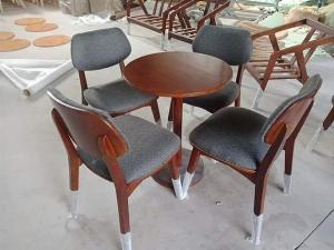 Bộ bàn ghế gỗ bọc nệm Nội Thất Quang Đại