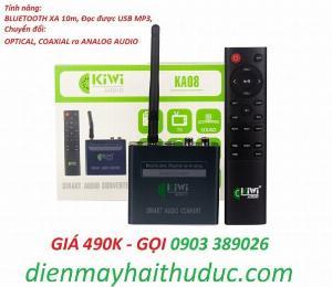 Bộ chuyển Optical Kiwi KA08 hỗ trợ Bluetooth xa đến 10m, USB phát nhạc MP3