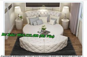 Top 10 mẫu gường tròn đẹp kiểu dáng sành điệu nhất hiện nay