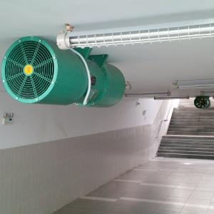 Quạt thông gió trong tầng hầm Jet Fan