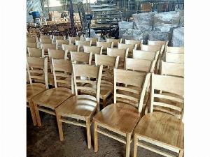 Thanh lý ghế cabin gỗ cao su giá rẻ