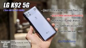 Điện thoại LG K92 5G Giá tốt tại Zinmobile
