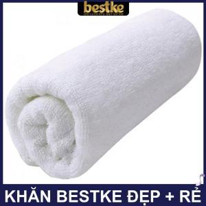 Khăn gội bestke 100% cotton, size 83*33cm, Bestke towel, spa towel, cotton towel