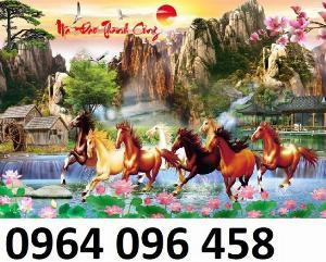 Tranh ngựa - tranh gạch 3d con ngựa - MVC4