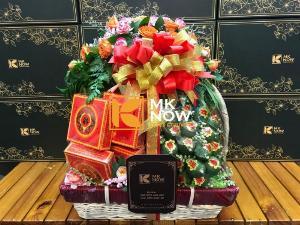 Giỏ quà lễ vật đi dạm ngõ - FSNK245