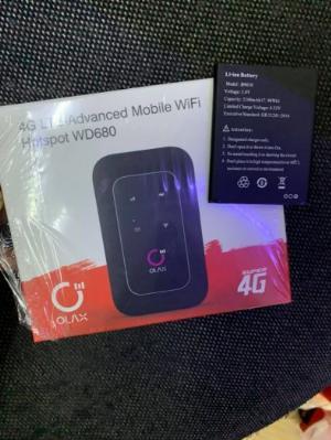 Pin bộ phát wifi 4G Olax WD680 và MTC 8723FT new