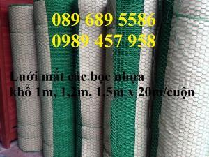 Chuyên Lưới mắt cáo, lưới mắt cáo bọc nhựa, lưới trát tường, lưới mạ kẽm 1ly, 1.5ly, 2ly