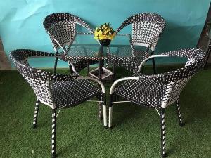 Bộ bàn ghế cà phê giá rẻ Ak004