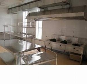 Bàn inox sử dụng trong khu bếp  nhà hàng HM 05