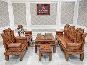 Bộ bàn ghế kim tượng trấn quốc 6 món