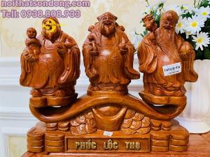 Bộ tam đa gỗ hương siêu đẹp