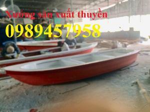 Vỏ thuyền chèo tay, Thuyền composite, Xuồng chở 3-4 người,