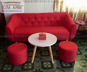 Tóp 10 mẫu ghế sofa văng vải mini giá rẻ cho chung cư thủ dầu một, bình dương
