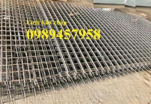 Nhà máy sản xuất Lưới thép phi 6 50x50, D6 100x100, A6 a 200x200 giá tốt
