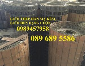 Bán lưới thép hàn bọc nhựa, Lưới thép D2 25x25, D3 50x50, D4 ô 100x100, Lưới đổ sàn