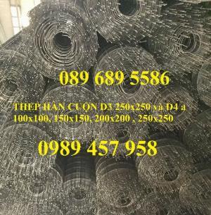 Phân phối Lưới hàn mạ kẽm phi 1, phi 2, phi 3, phi 4 mạ kẽm ô lưới 5x5, 10x10, 15x15, 20x20, 50x50