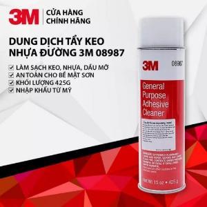 Dung dịch tẩy đa năng, Tẩy keo, tẩy nhựa đường 3M 08987 General Purpose Adhesive CleaneR