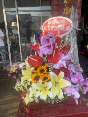 Giỏ hoa chúc mừng chị em phụ nữ ngày 8/3 - LDNK17