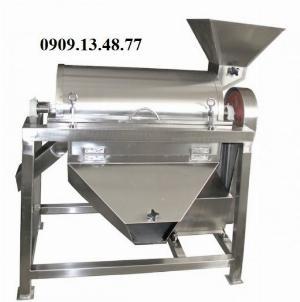 Máy chà quả cà chua, máy chà cà chua làm tương, máy chà quả tự động 500kg,
