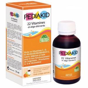 Pediakid 22 Vitamin Et Oligo Éléments – 22 Vitamin Và Khoáng Chất