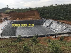 Bạt Nhựa 2 Mặt hdpe lót trải hố biogas 0.8mm giá rẻ 2021