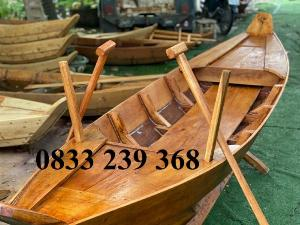 Thuyền gỗ trưng hải sản, Thuyền gỗ 2m, 2m5, 3m, Xuồng gỗ 4m, 5m