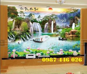 Gạch tranh trang trí trên tường ốp 3d đẹp HP6029