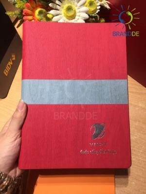 Xưởng sản xuất sổ da theo yêu cầu dùng trong sự kiện, khách sạn, quà tặng nhận diện thương hiệu