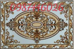 Gạch thảm sàn, gạch phòng khách trang trí đẹp 3d HP248