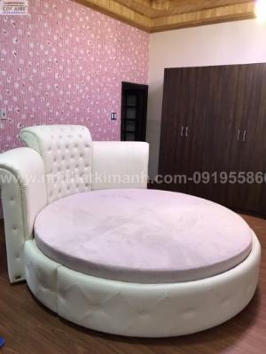 Giường tròn ngọc trinh, mẫu giường tròn cho bé gái sang chảnh sành điệu