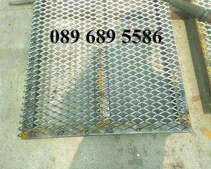 Lưới dập giãn 30x60, Lưới mắt cáo 45x90, Lưới làm bậc cầu thang