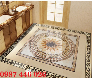 Gạch thảm chiếu nghỉ trang trí phòng khách đẹp HP0175