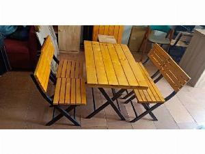 Bộ bàn ghế quán nhậu mẫu hiện đại Ak009