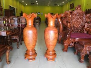 Lục bình gỗ hương cao 1m2 – LBM120