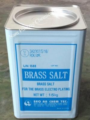 Muối mạ gốc CN (Brass Salt), Muối Brass