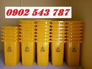 Thanh lý thùng rác y tế đựng rác thải chứa Sars CoV2