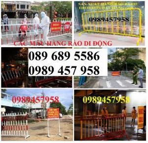 Hàng rào giãn cách, Hàng rào chắn sự kiện, Hàng rào hành lang giao thông 1mx2m, 1,2mx2m