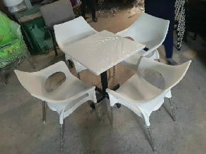 Bộ ghế nhựa cà fe cao cấp giá rẻ Ak