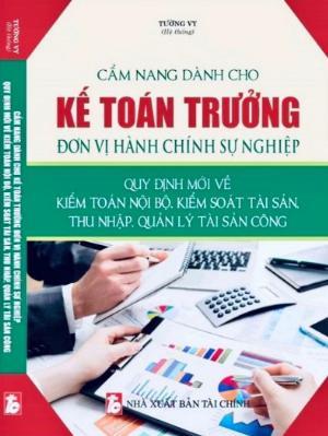Sách Cẩm Nang Kế Toán Trưởng