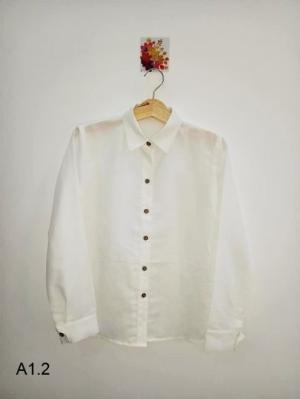 Áo sơ mi nữ tay dài thời trang công sở cao cấp A1.2