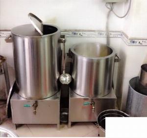 Nồi inox điện nấu nước sôi 100 lít Hải Minh HM 019