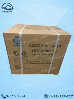 Vitamin C – Ascorbic Acid dùng trong Nuôi trồng thủy sản