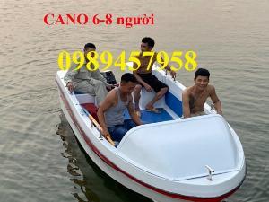 Cano composite 5m x 1,9m chở 8-10 người giá rẻ nhất
