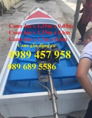 Cano cứu hộ chở 6 người, cano chở 12 người, cano du lịch gắn động cơ