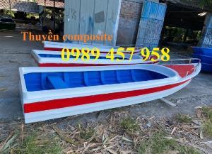 Thuyền chống chìm, Thuyền cứu hộ, Thuyền composite 6-8 người, Thuyền du lịch