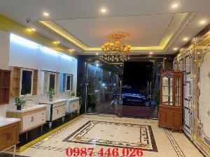 Gạch thảm sảnh- gạch lát nền trang trí phòng khách rộng HP0295