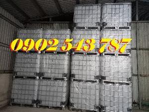 Thùng nhựa 1000 lít chất lượng tốt tại công ty Bảo Sơn