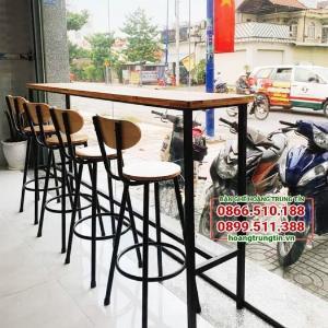 Bộ bàn ghế bar cafe thanh lý Giá Rẻ